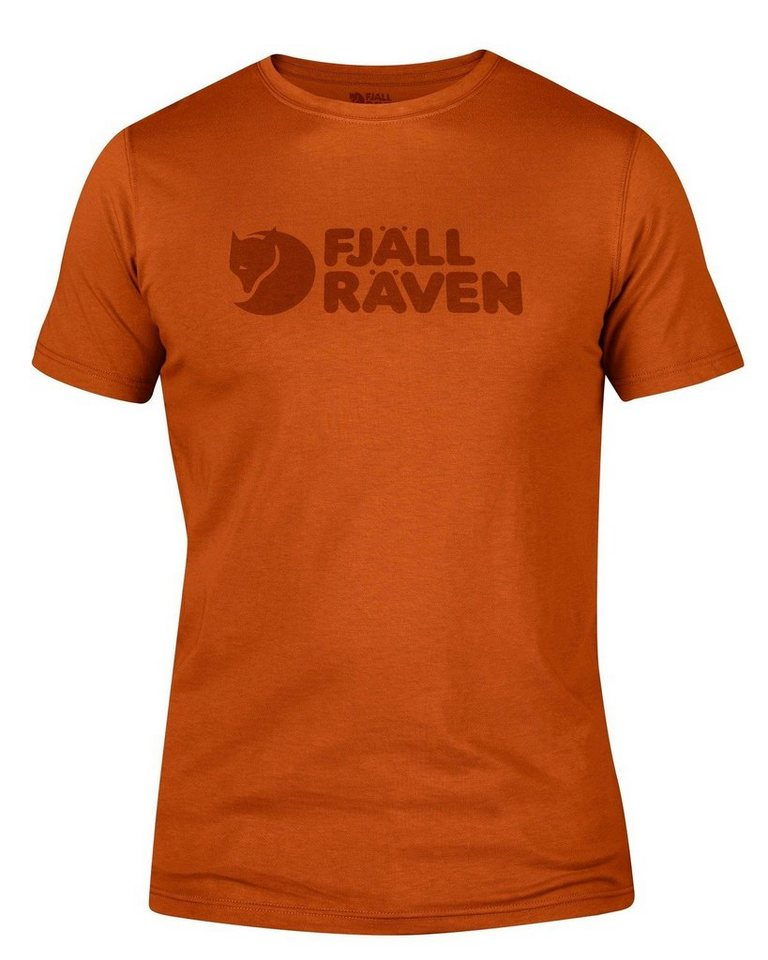 Fjällräven Logo T-Shirt in Rost