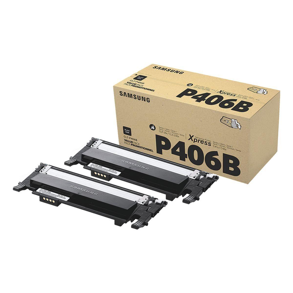 Samsung 2er-Pack Toner »CLT-P406B«