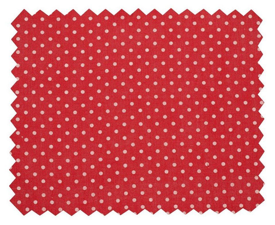 """VBS 5m Deko-Stoff """"Punkte"""" in Rot-Weiß"""
