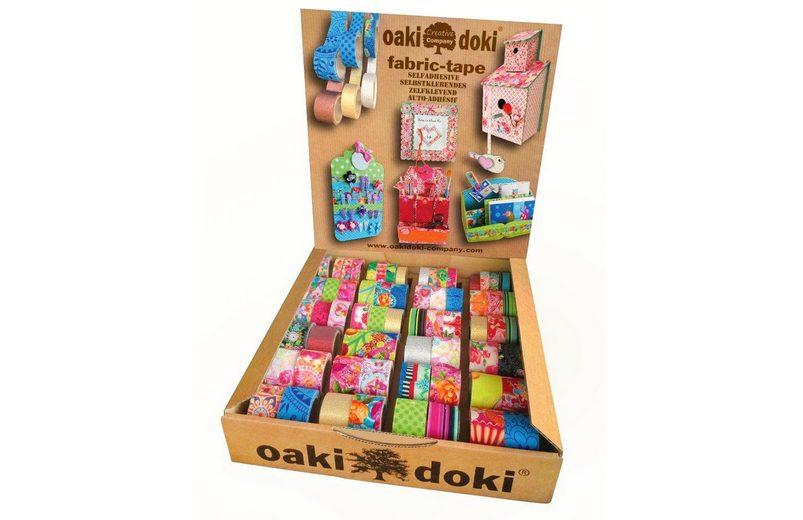 "64-tlg. Oaki Doki ""Fabric Tapes"", Großhandelspackung"