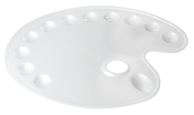 VBS Kunststoffpalette, oval