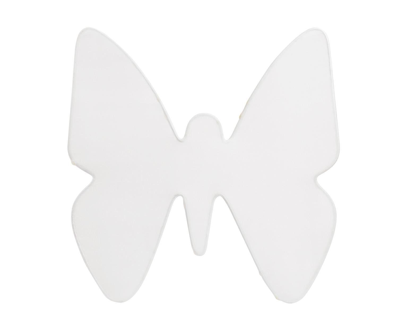 Seiden-Fensterbild Schmetterling, 26 x 26cm