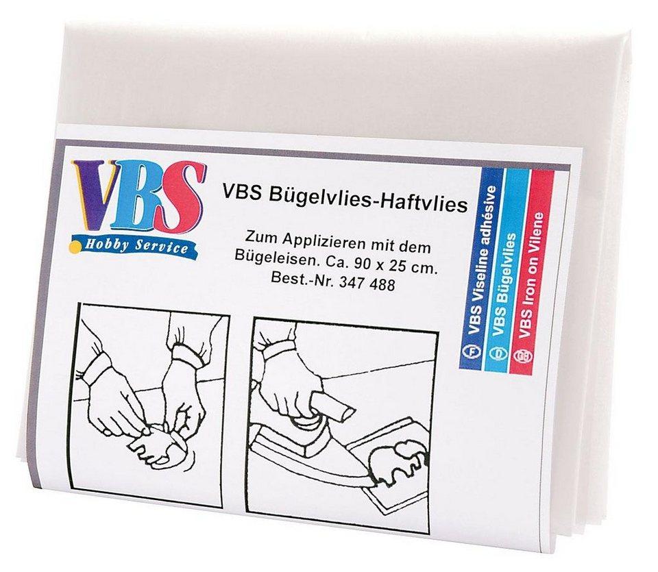 VBS Meterware Bügelvlies-Haftvlies