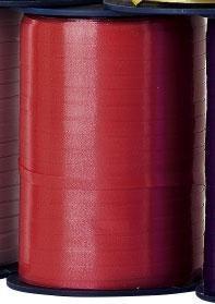 Kräuselband, 500 m in rot