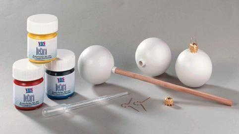 Kunststoff-Kugel weiß, mit Stutzen