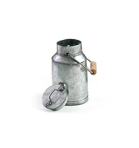 Metall-Milchkanne