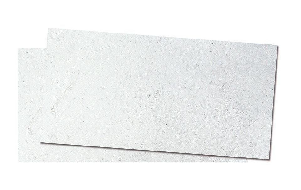 Verzierwachs, 8x22cm in Mattsilber