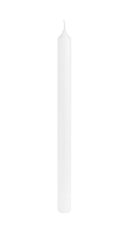 Kerze weiß, 400x30mm