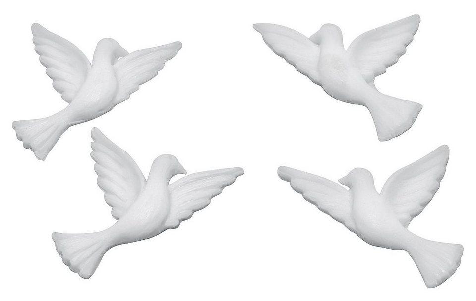 Wachsmotiv Tauben, 40mm, 2 Paar online kaufen