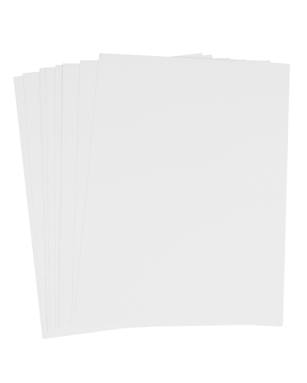 Enkaustik Malkarten weiß