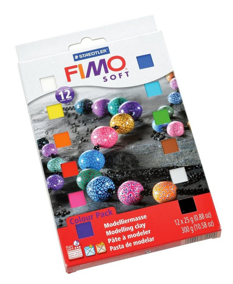 Fimo Soft, Materialpackung, klein