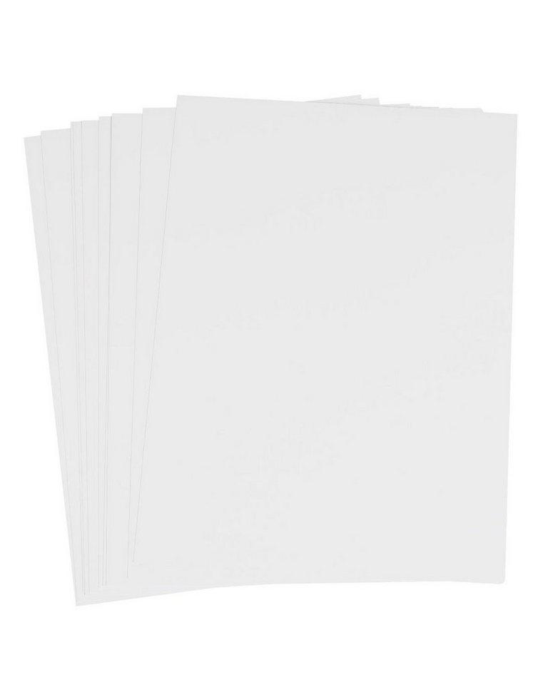 Enkaustik Malkarten, weiß