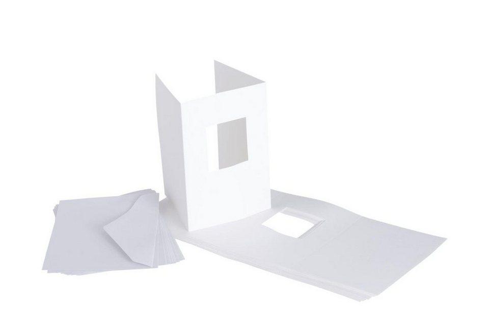 "VBS Passepartoutkarten ""Quadrat"", 20-tlg."