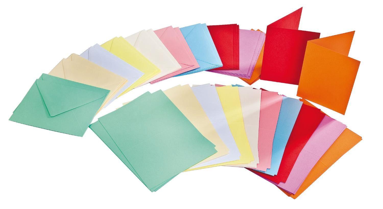 VBS Großhandelspackung 100-tlg. Mega-Karten-Set, pastellfarben