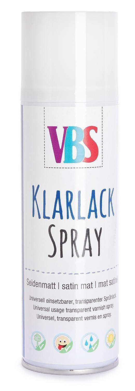 VBS Klarlack-Spray , 300 ml, Seidenmatt
