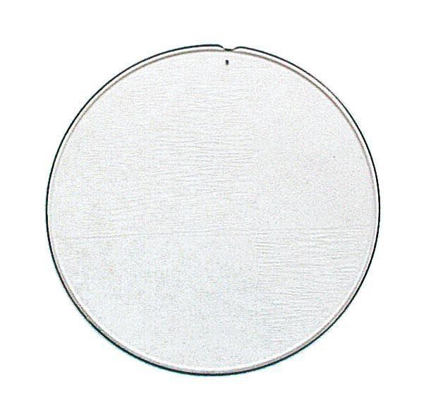"""Acryl-Trennscheibe """"Rund"""", Ø ca.12 cm"""