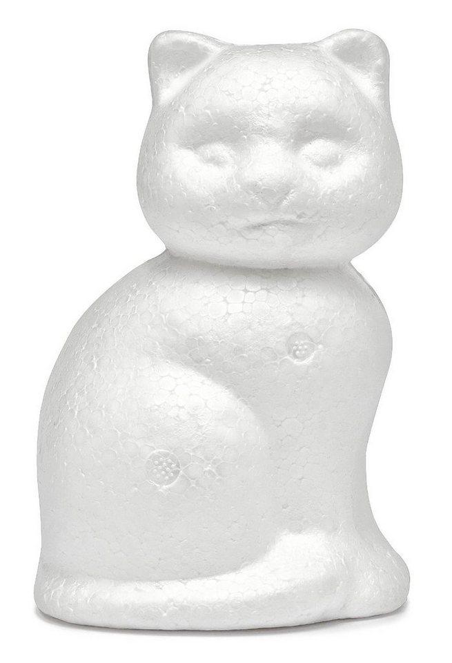 VBS Styroporform Katze, 14 cm