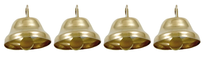Metallglöckchen, 22 mm, 4 Stück
