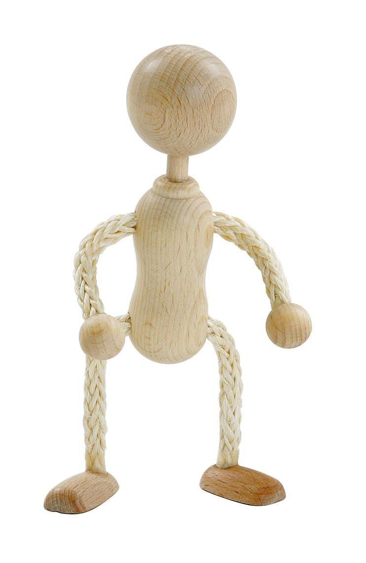 Rohpüppchen mit Kopf, ca. 14 cm