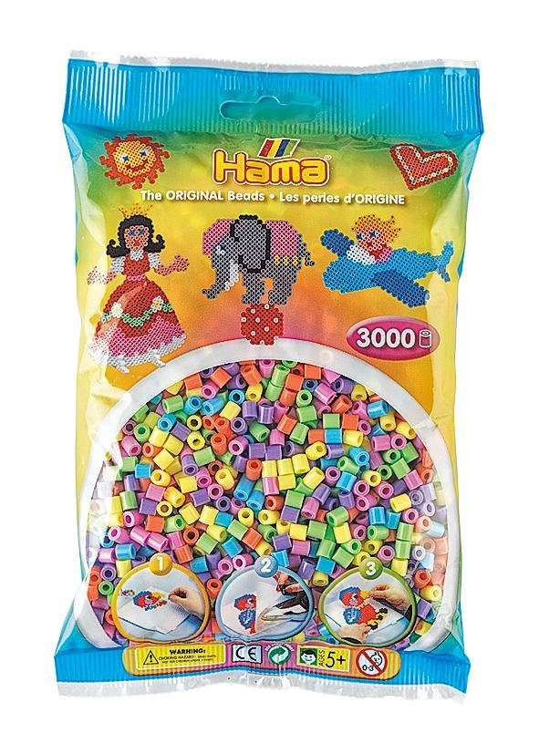 Hama Perlen Perlen-Mix Pastell