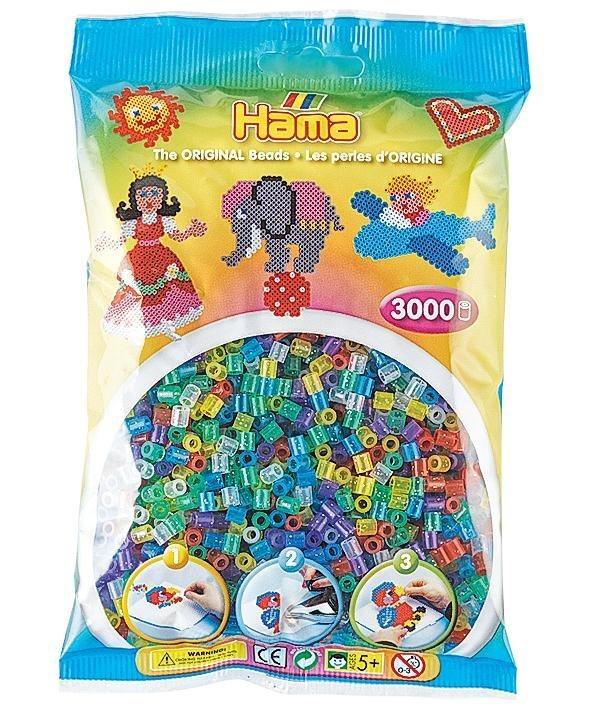 Hama Bügelperlen Perlen-Mix Glitter