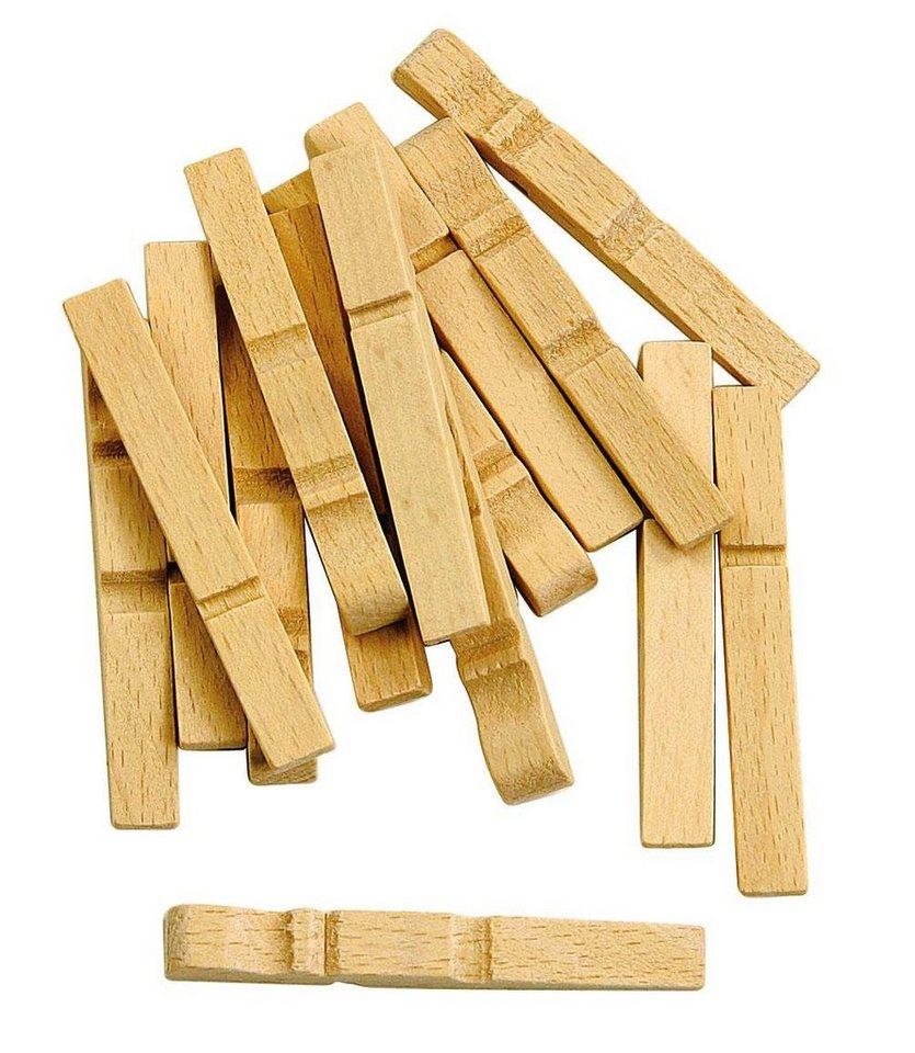 Holzklammernteile, 100 Stück