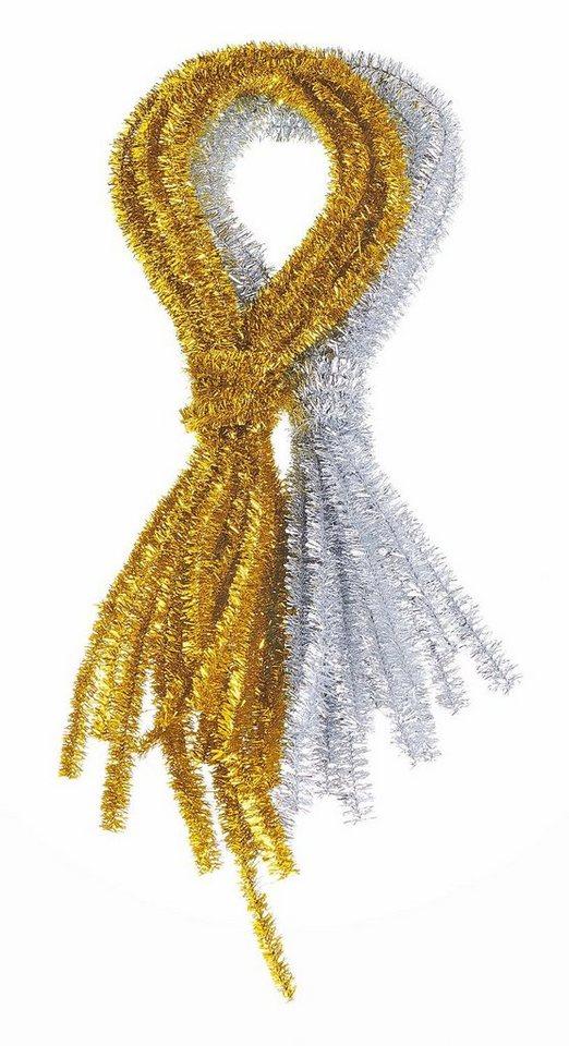 "VBS Metallic-Chenilledraht ""Gold"", 10 Stück"