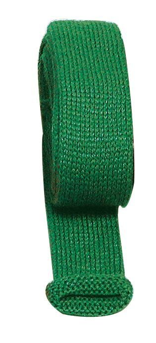 Strickschlauch, 1,5 cm breit in grün