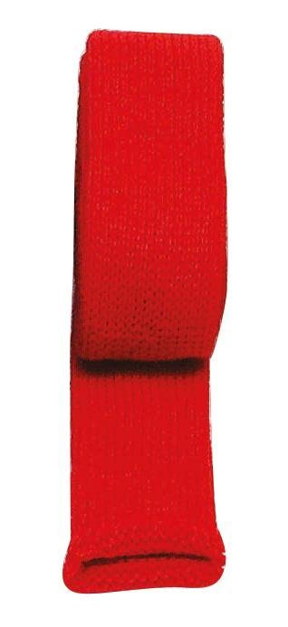 Strickschlauch, 4 cm breit in rot