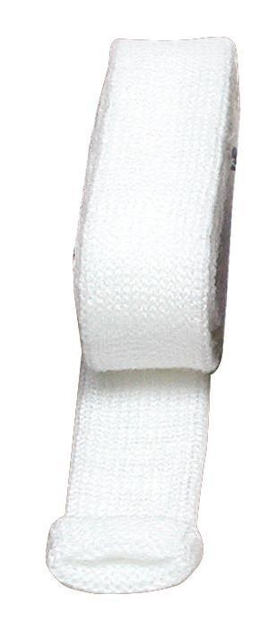 Strickschlauch, 2,2 cm breit in weiß