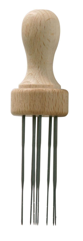 Filznadel-Holzgriff