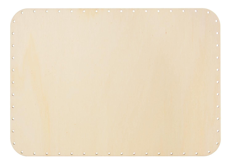 Peddigrohr-Boden mit abgerundeten Kanten, 4mm, 24x34cm