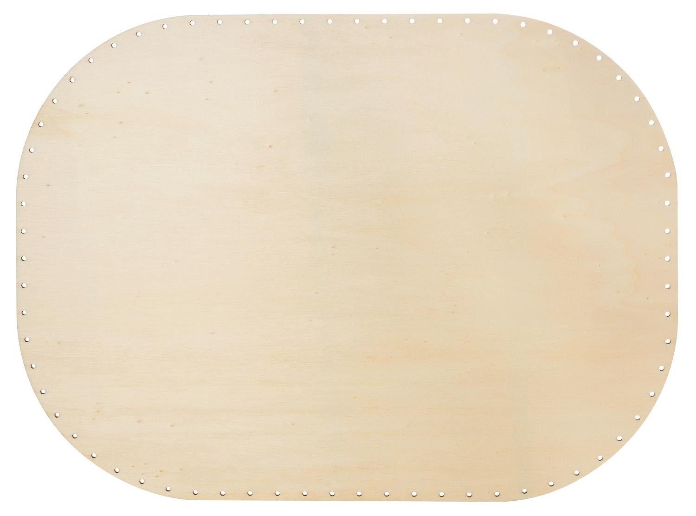 Peddigrohr-Boden mit abgerundeten Kanten, 4mm, 45x33cm