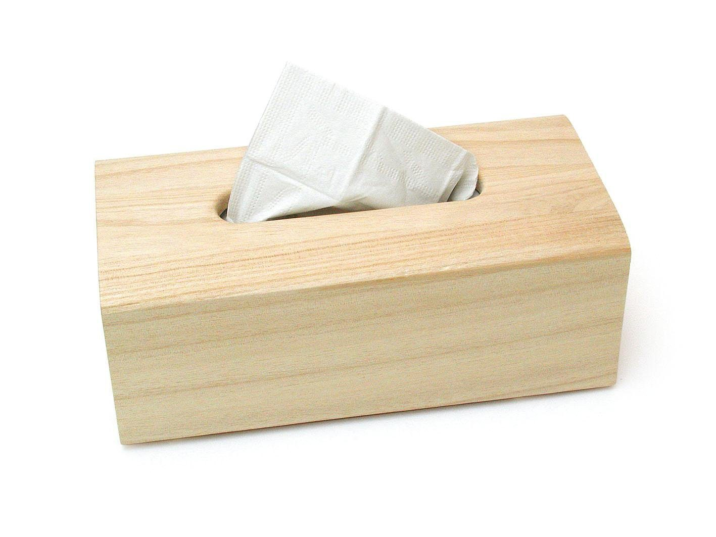 VBS Kosmetiktuchbox aus Holz