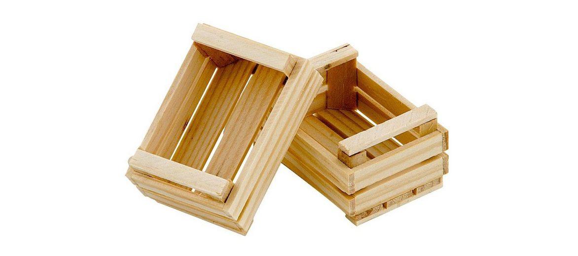 VBS Holz-Obststiege, 2 Stück