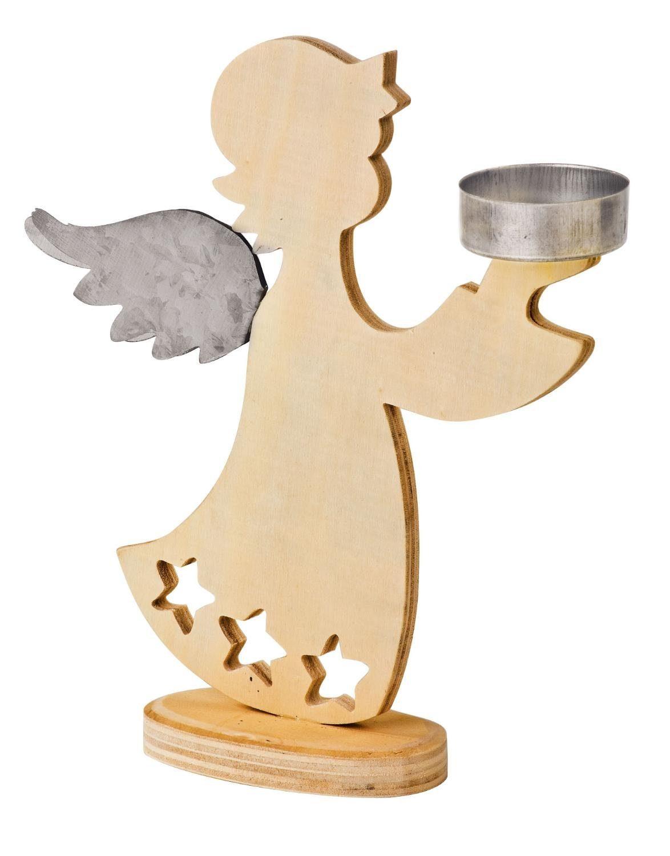 VBS Engel-Teelichthalter, 2 Stück