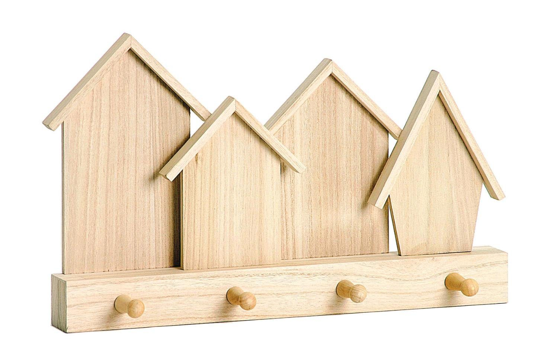"VBS Wandbord ""Häuserfront"", Holz"