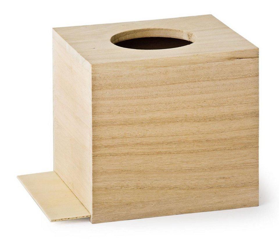 VBS Kosmetiktuch-Box, runde Öffnung