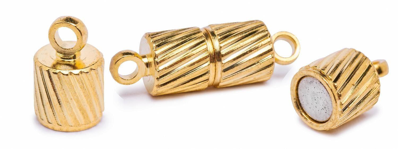 Magnet-Verschluss, »Bow« goldfarben