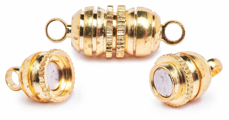 Magnet-Verschluss, »Cup« goldfarben