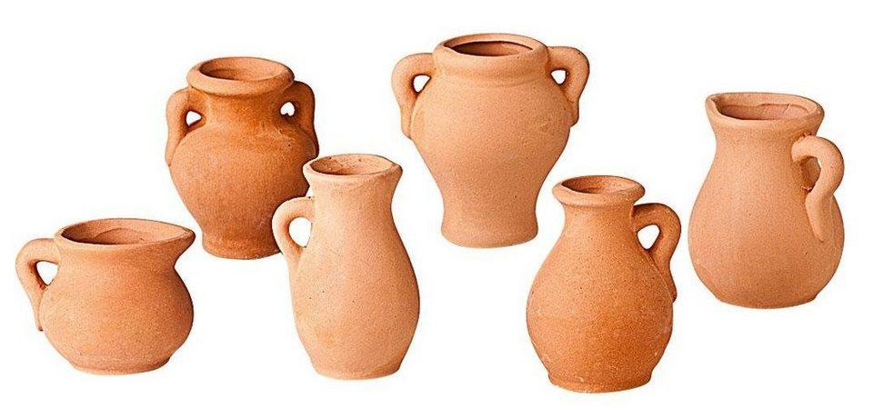 Ton-Vasen, 6er-Set