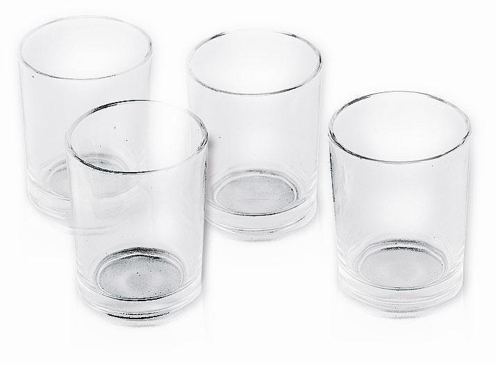 VBS Teelichtgläser, 4 Stück