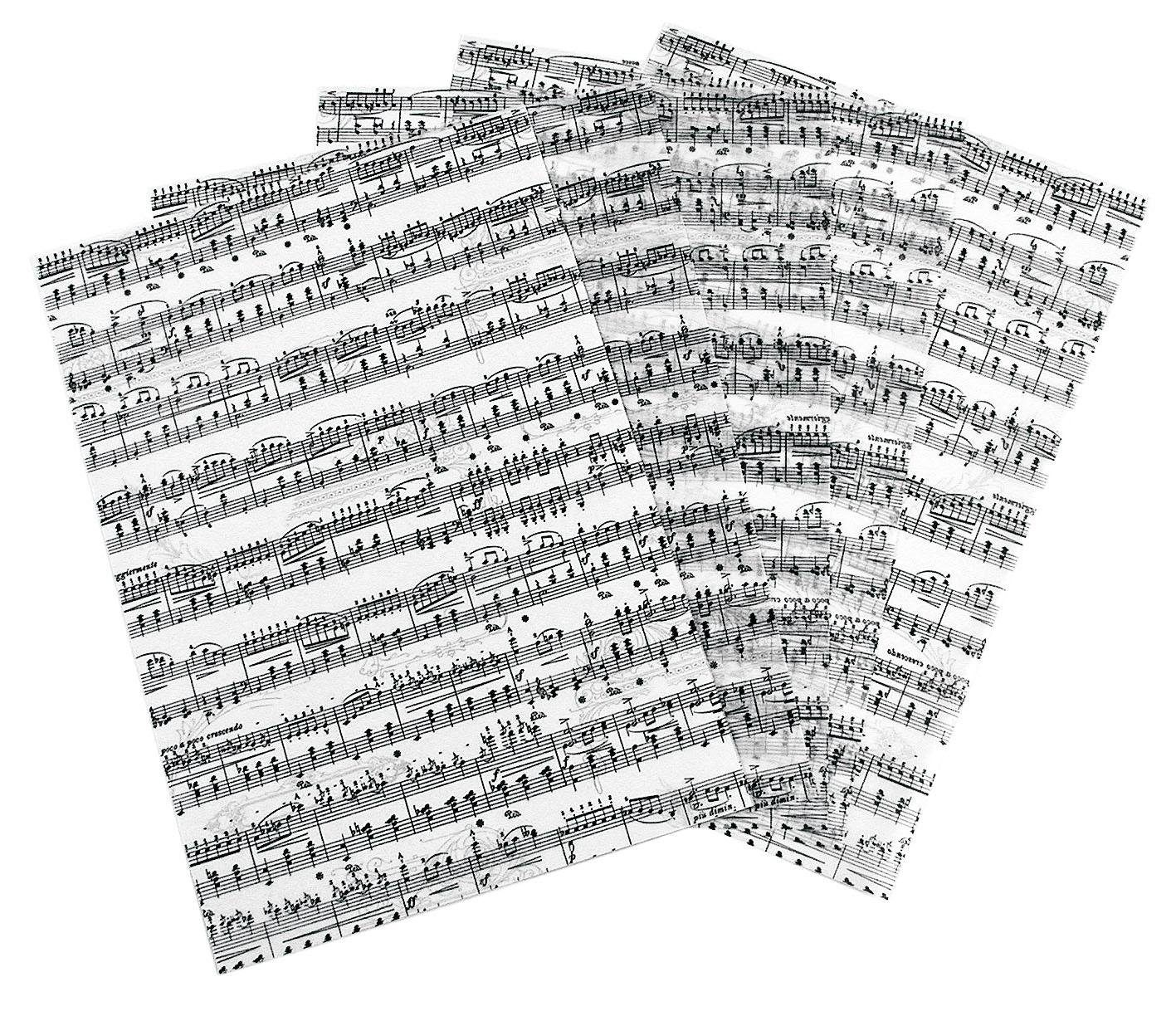 "Ursus Transparentpapier ""Noten"""