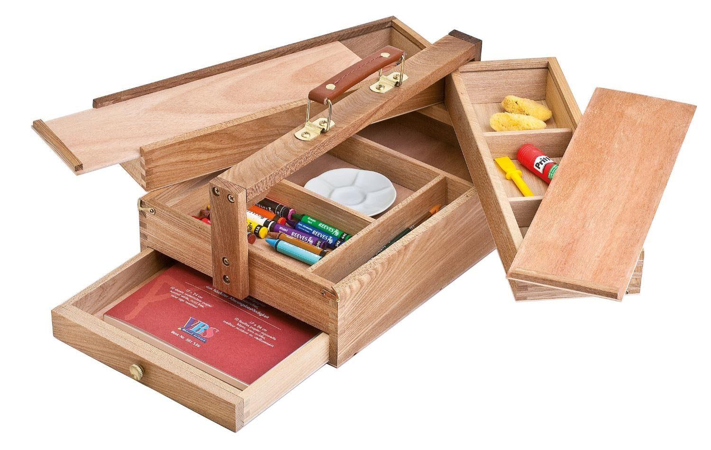 VBS Holz-Utensilienkoffer