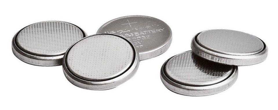 VBS Ersatzbatterien für LED Teelichter, 5 Stück