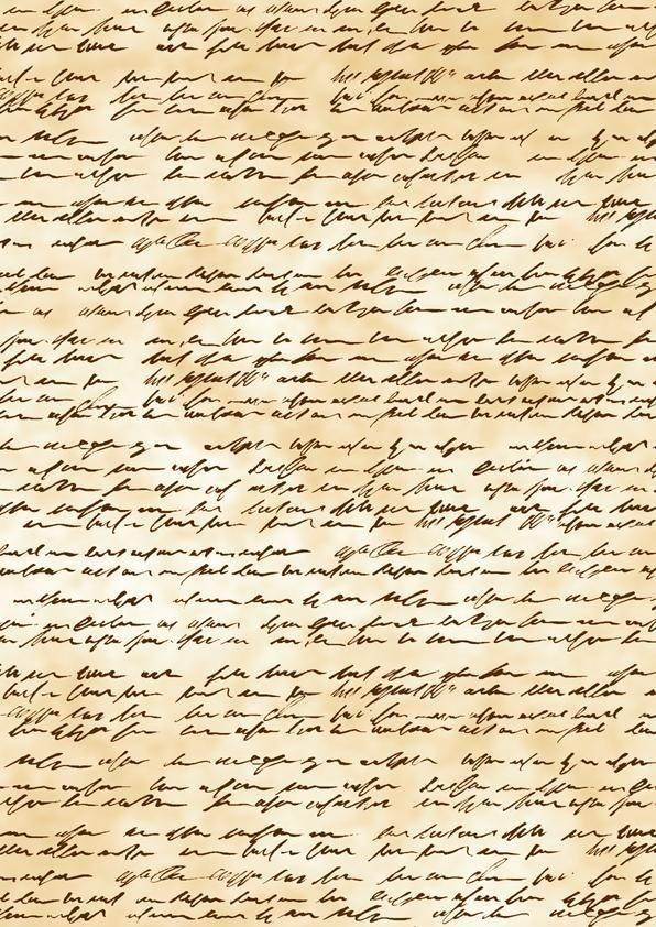"""Transparentpapier """"Handschrift"""""""
