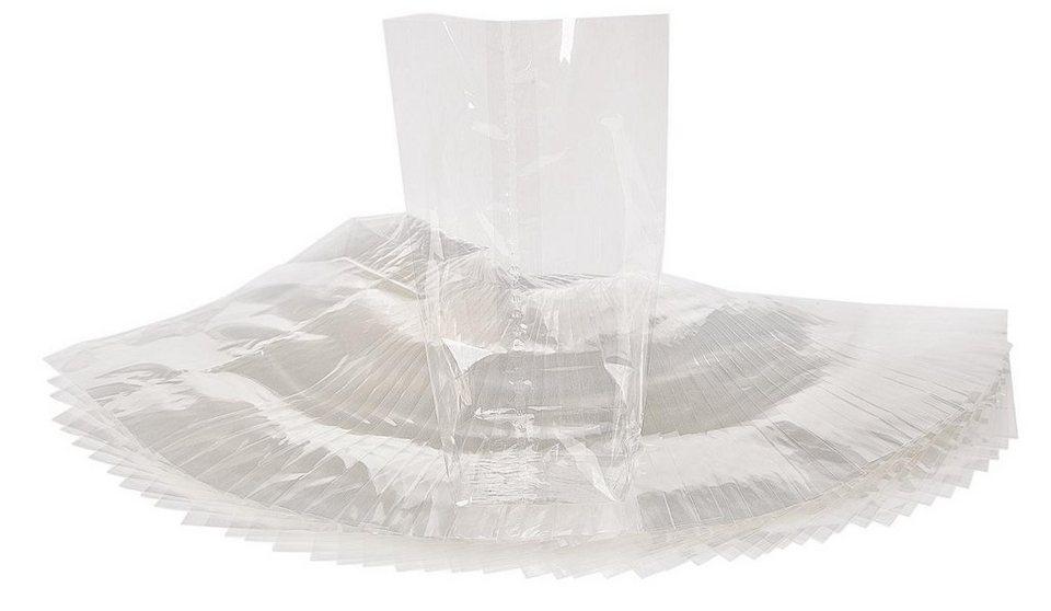 50 Zellglas-Beutel, transparent