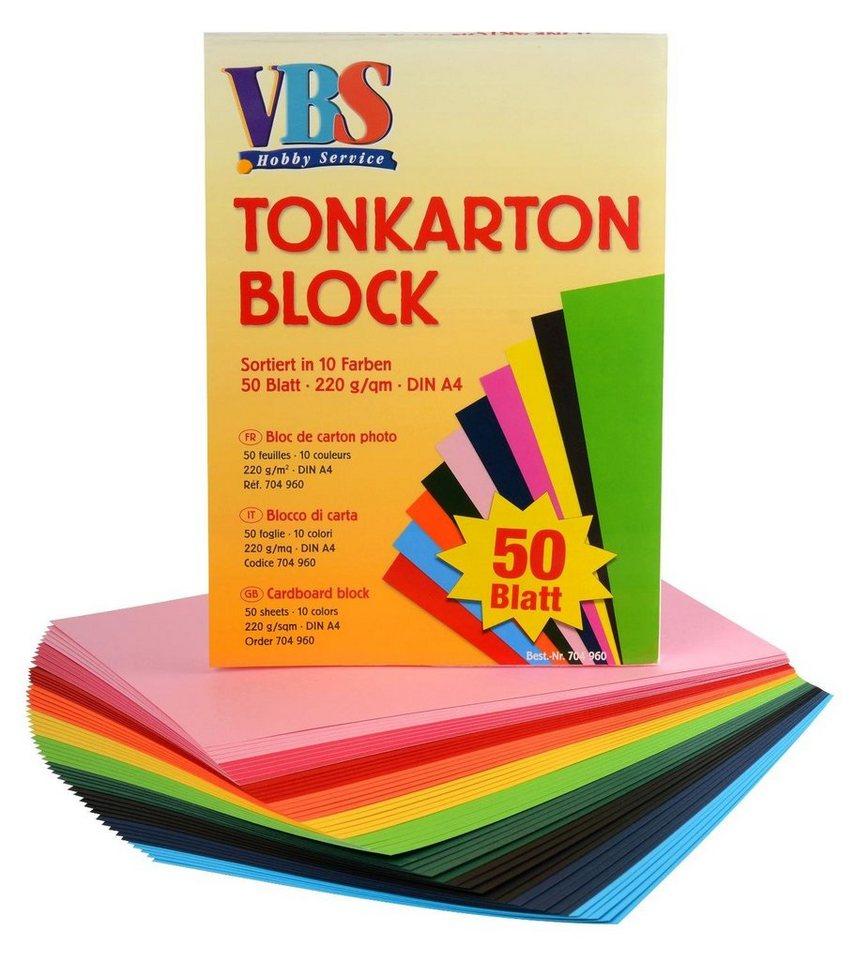 VBS Tonkarton Block