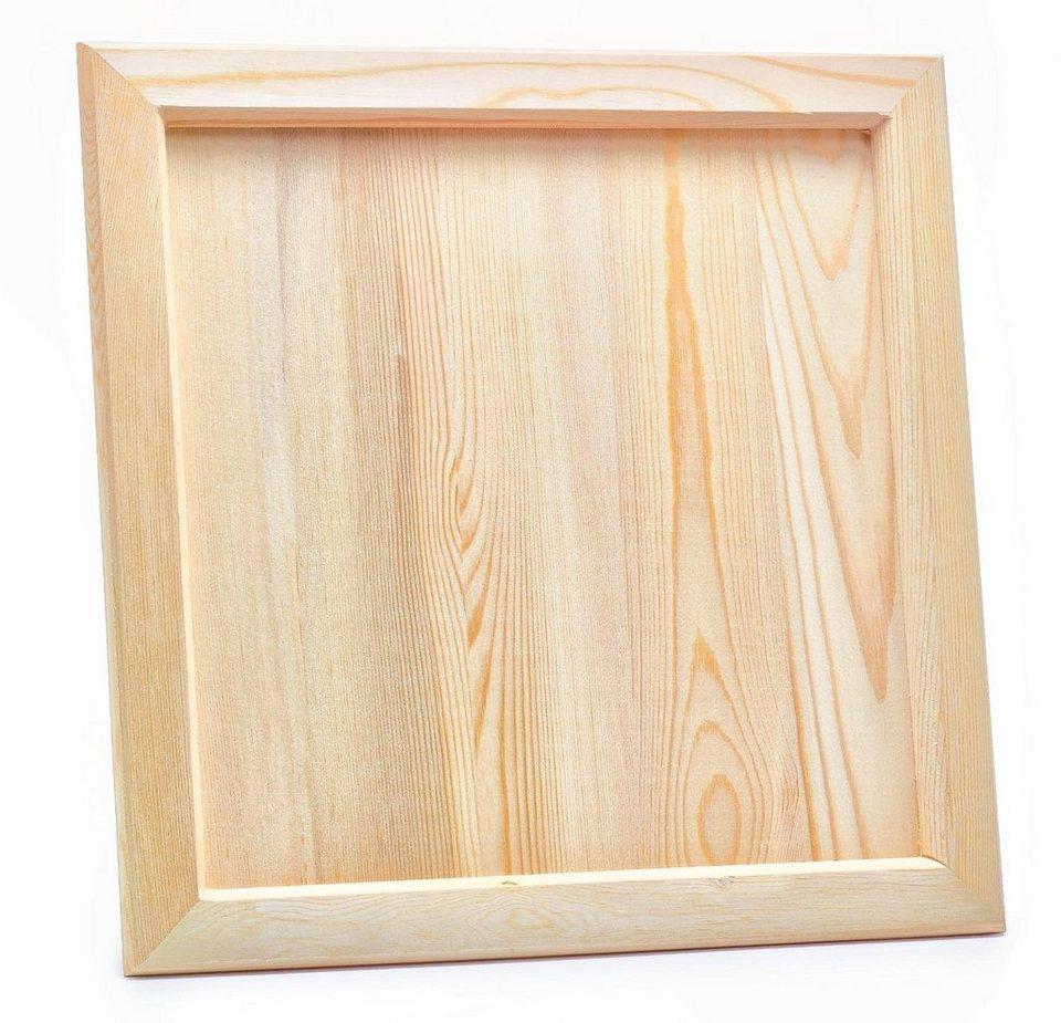VBS Holz-Bilderrahmen 37 cm x 37 cm online kaufen | OTTO
