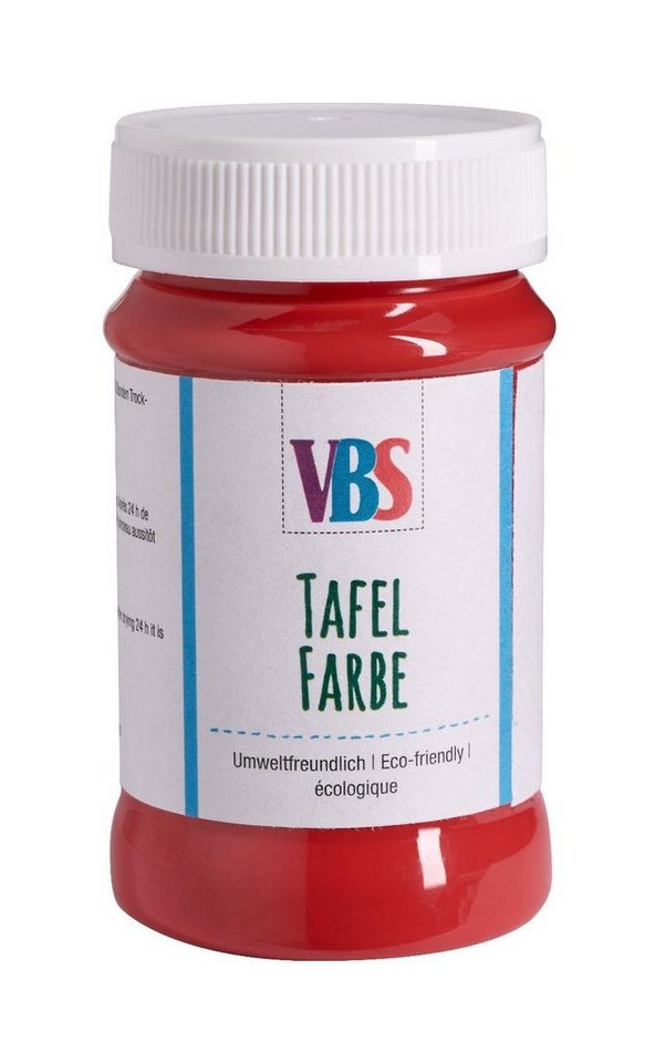 VBS Tafelfarbe, 100 ml in Rot